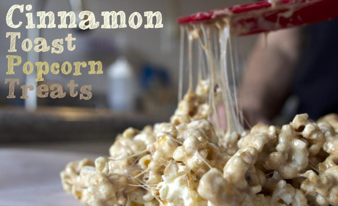Cinnamon Toast Popcorn Treats