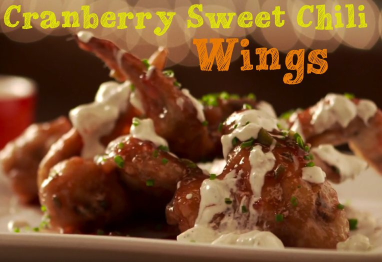 Cranberry Sweet Chili Wings