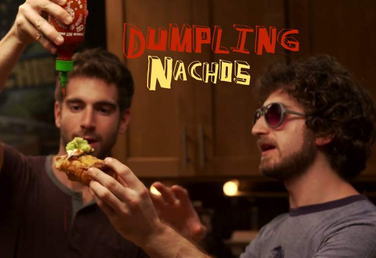 Dumpling Nachos