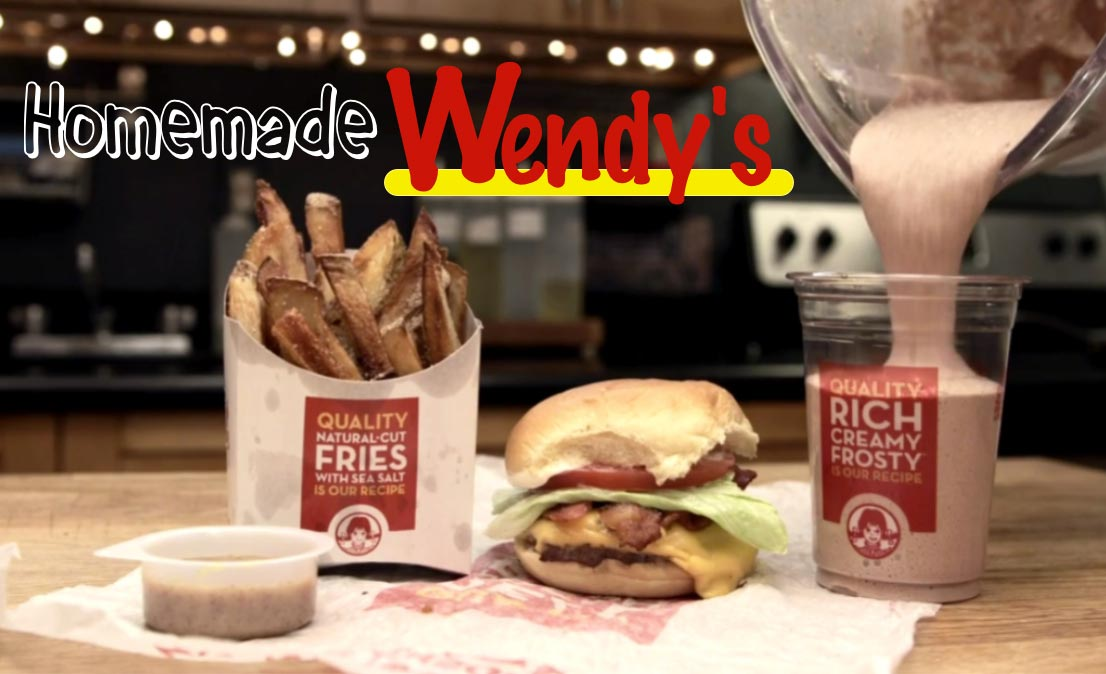 Wendy's Value Meal Homemade