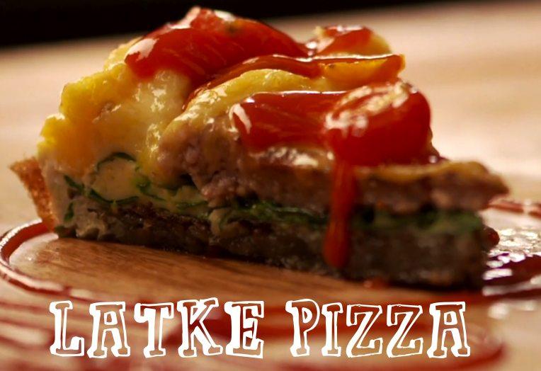 Latke Pizza