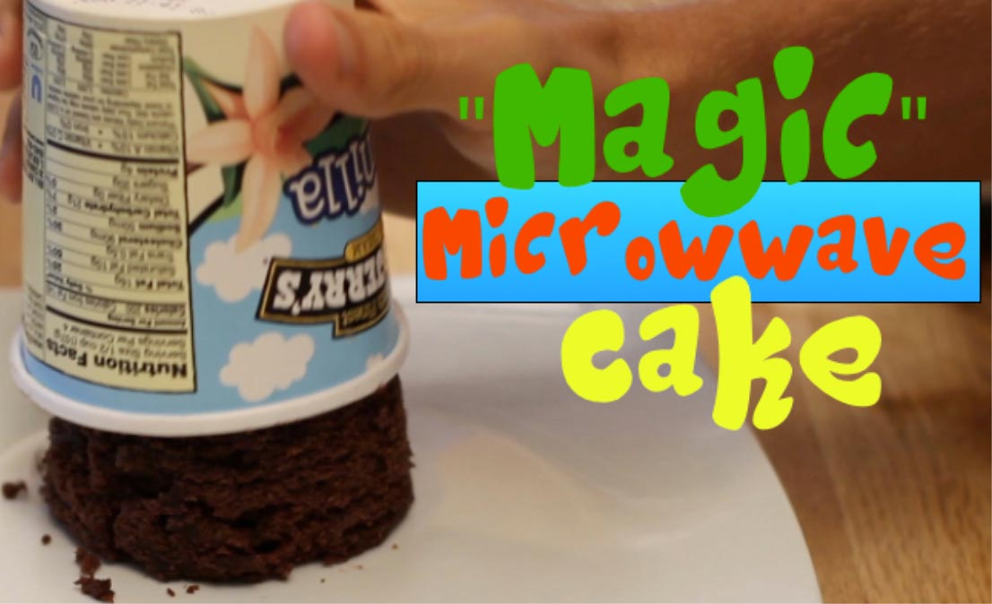 """Magic"" Microwave Cake"