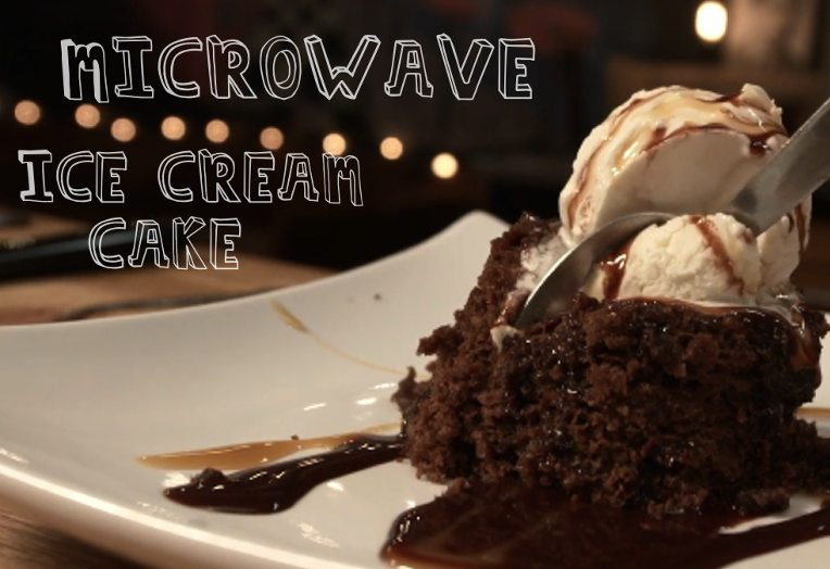 Microwave Ice Cream Cake