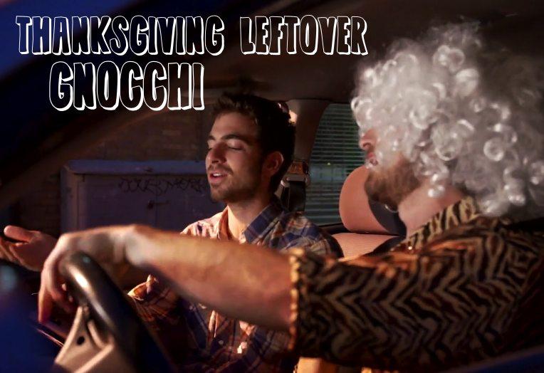 Thanksgiving Leftover Gnocchi
