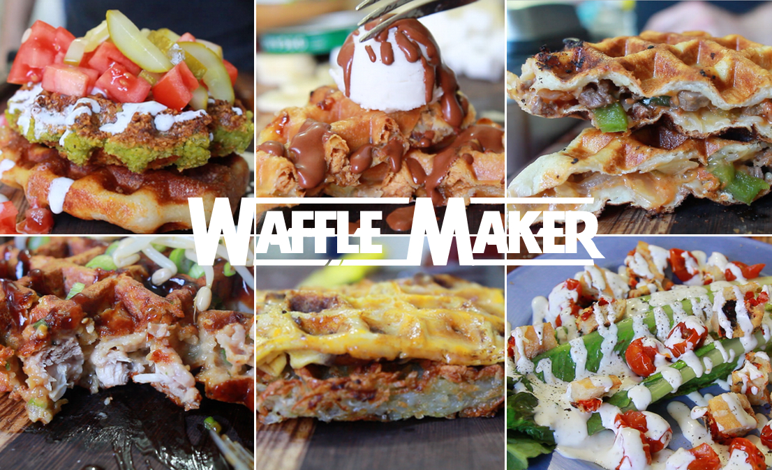 6 Unique Meals Using a Waffle Maker