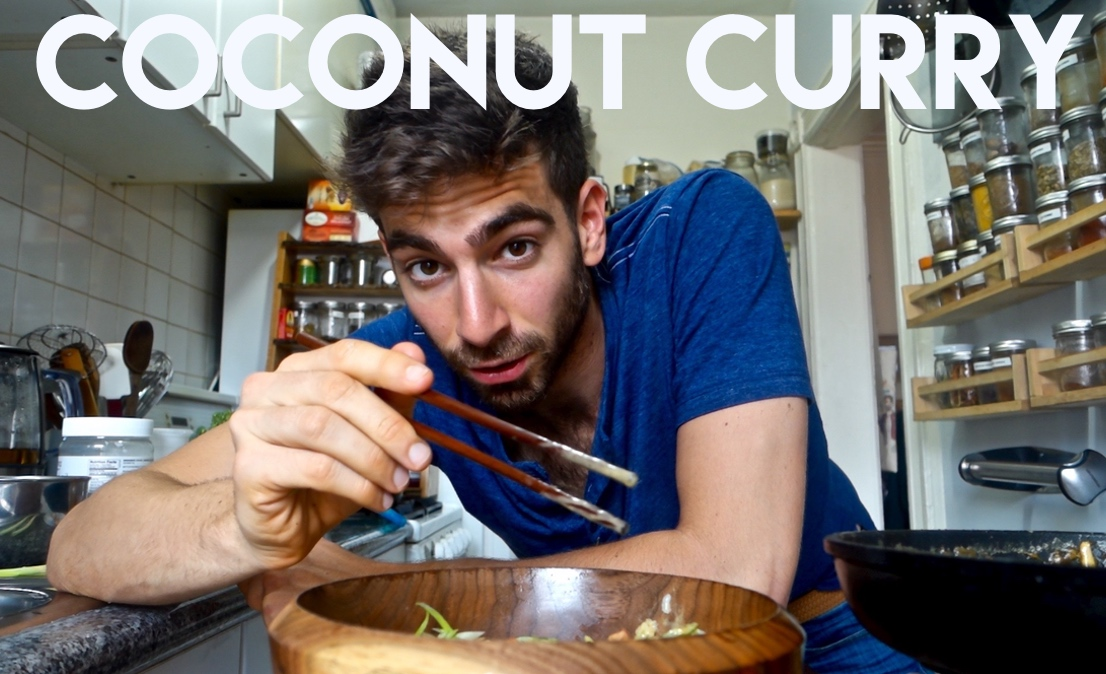 The 15 Minute Dinner Series – Veggie Coconut Curry